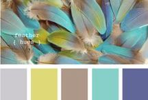 Hues & Palettes / Color palette ideas and inspiration for graphic design, art, interiors, and more!