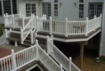 Porch & Deck Ideas / by Melissa Boyd