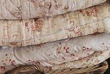I love quilts, linen & fabrics