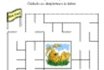 Juegos imprimibles / Juegos y pasatiempos imprimibles educativos para niños en la etapa preescolar y primaria.  Printable games and activities for kids in preschool and early elementary grades.