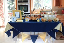 Baby Shower for Christie (Nemo) / Finding Nemo and Curious George themes / by Kellie Chanchay