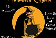Trick or Treat Oct. 28-31st   / Like us on FB. Find the  ingredients for our witches brew at each author's website! Win  fun prizes at- http://www.booktalk.com/Halloween/