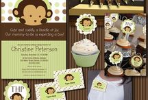 Baby shower for Van (monkey) / by Kellie Chanchay