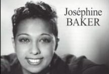 "Josephine Baker's Beauty / Josephine Baker (June 3, 1906 – April 12, 1975) was an American-born French dancer, singer, and actress. Born Freda Josephine McDonald in St. Louis, Missouri, she became a citizen of France in 1937. Fluent in both English and French, Baker became an international musical and political icon. She was given such nicknames as the ""Bronze Venus"", the ""Black Pearl"", and the ""Créole Goddess"". Later, she would perform at Buchenwald for the liberated inmates who were too frail to be moved.  / by Granny Pat"