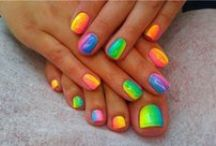 Nail design inspiration / by Tanya Perrin