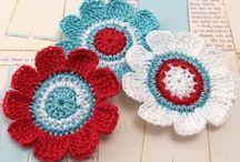 Crochet Crazy flowers
