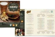 Menu Templates / Download, edit, and print menu templates by StockLayouts.