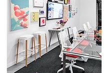 Workspace / Furniture and items we love and use in our office environment.