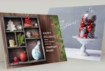 Holiday & Christmas Card Templates / Create and print your own Holiday Greeting Cards with ready-made templates!