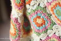 Crochet Crazy granny squares