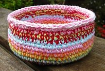 Crochet Crazy baskets