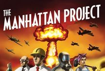 THAT Manhattan Project / Events and People leading up to, pertaining to, and fall-out from the Atomic Bomb.  The code-name given to the atomic bomb development program during World War II. The Manhattan Project consisted of secret laboratory locations across the country. Over the course of 3 years, the government spent over 2 billion dollars in pursuit of the world's first atomic bomb. Every top physicist in the country was involved, the government managed to keep the program a secret from the rest of the world. / by Granny Pat