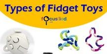 Fidget Toys and Spinners / Fidget Toys and spinners for hyperactive, ADHD and ADD To join the board email me at admin@focusfied.com