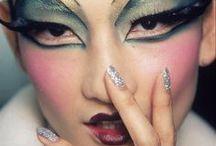Makeup. / #makeup #beauty #runway #art