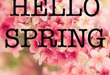 Spring Time! / Spring is almost here - All the inspiration needed to look forward to the fresh air and new season! Fashion, Jewelry, Makeup Ideas, Flowers, Bunnies, Gardening, Crafts & Decorating!