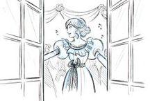 "Miss Abbott and the Doctor / ""Miss Abbott and the Doctor"" by Maripaz Villar on LINE Webtoon."