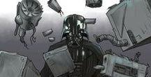 """Star Wars / """"Star Wars"""" by Hong Jacga on LINE Webtoon."""