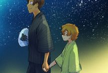Plance / Lance x Pidge (Katie) Blue and Green ship from Voltron