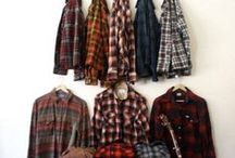 Plaid  Flannel / Plaid Flannel is a great look for the cooler weather. Pair with work boots for the outdoors or a tie for the office. Check out the plaid flannel collection.