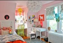 kid spaces. / kids bedrooms, play rooms, design, inspiration, girls bedrooms, shared bedrooms, cute rooms, decor, interior design ideas