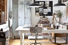 Ateliers and little workspaces / Beautiful studios & storage ideas