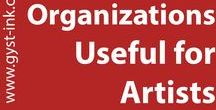 Organizations Useful for Artists / Organizations which provide services or information for artists.