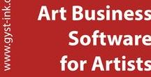 Software for Artists (Art Business Software) / A software program for mac and pc which will keep track of just about anything in your art life. Manage your art career easily and spend more time in the studio. Free 30 day trial at http://www.gyst-ink.com  © Karen Atkinson.