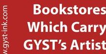 Bookstores Which Carry GYST Artist Manual / Getting Your Sh*t Together Artist Manual is available online, but also in these fabulous bookstores. Check it out if your nearby.