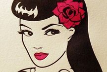 Rockabilly/ Pin up style
