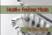 Freezer cooking / by Betsy Pool @ A Mother's Road
