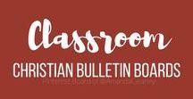 Christian Bulletin Board Ideas / Christian bulletin board inspiration for churches and private schools.
