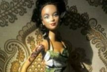 Rockabilly/ Pin upstyle dolls / Barbs and other dolls restyled in (rock a billy) pin up look