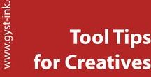 Tool Tips for Creatives / Every creative solution I can find that might be helpful for creatives. Truly a hodge lodge of information, that might inspire a solution to your creative efforts as artists. Tools and tips for artists of all kinds.