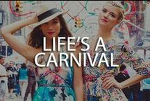 Life is a Carnival / Yumi Kim Life is a Carnival collection for Spring 2014  / by YUMI KIM