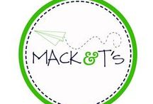 Mack & T's / Fun, funky, and unique appliqued tees for kids and adults.  Each applique is designed, drawn, and sewn by Mack & T's mama!