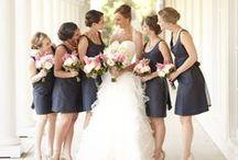 Bridesmaids Dresses - Navy