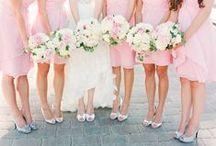 Bridesmaids Dresses - Pastel