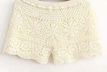 Crochet Skirts and Shorts