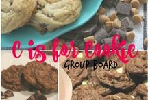 *C is for Cookie* / {Group Board} If you are a blogger (who posts recipes all the time or sometimes) and would like to pin cookie recipes to this board, please go to this pin and follow the instructions there: https://www.pinterest.com/pin/75013150021334534/
