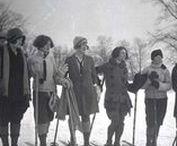 Old timey ski photos / Old ski photos