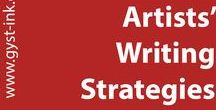 Artists Writing Strategies / Tips and tricks on writing for artists.