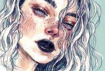 Female portraits (comics)