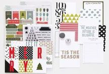 Remember December Kit / projects from the FYC Creative Team and fellow crafters using the Remember December kit, stamps, and embellishments