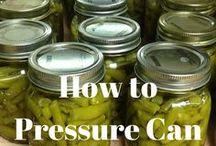 Canning / Canning Vegetables, Food Preserving, Self Preserving,
