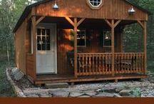 Rustic Cabin  Tiny House / Rustic Cabin   Tiny House