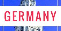 Germany Travel / Deutschland! Germany has some of the most beautiful natural landscapes in the world, and best cities in Europe - from the Bavarian city of Munich to the hip and happening Berlin.