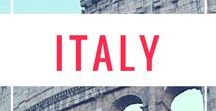 """Italy Travel / Is there any place more beautiful than Rome? Or Venice? Or Florence? Or... you get the picture. Italy is amazing, from the Cinque Terre to the hills of """"The Boot"""", and more."""
