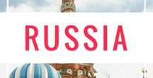 Russia Travel / The vast Russian landscape explored through photos, including Moscow and St. Petersburg.