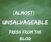 (Almost) Unsalvageable | Fresh from the Blog / This is where you will find the latest blog posts from (Almost) unsalvageable. #hiking #Self Care #Blogging Tips #AlmostUnsalvageable