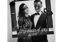 Mascarade à la Fifty Shades of Grey / 30th Birthday Mottoparty 50 shades of grey #50shadesofgrey #masquerade #masque #birthday #30 #diy #decoration #ideas #mottoparty